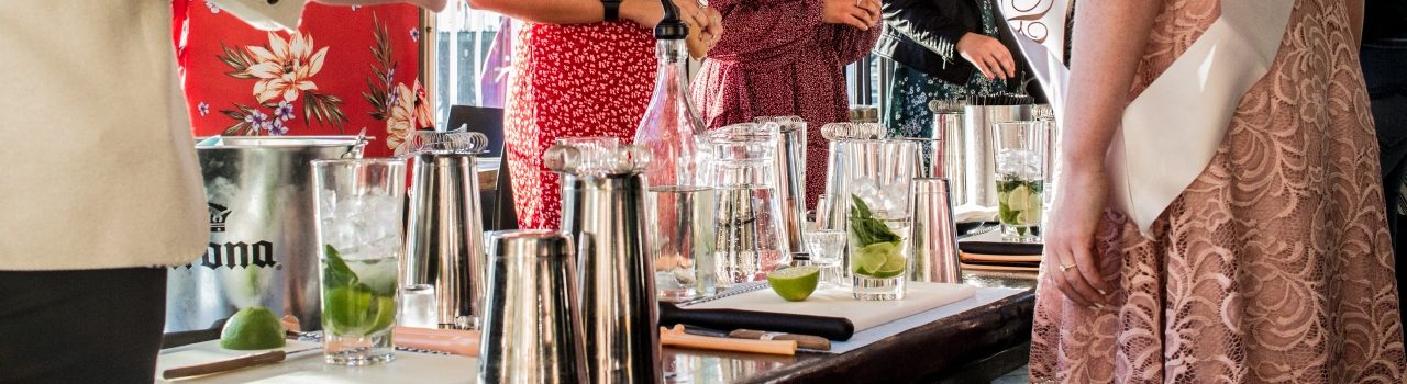 Cocktail Making Classes at Blackbird Cafe