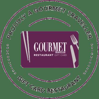 Gourmet Traveller Gift Card Restaurant - Blackbird cafe